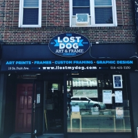 LOST DOG art & frame co.
